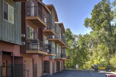 Durango Condo/Townhouse For Sale: 190 E 7th Avenue #A3