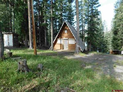 Cedaredge Single Family Home For Sale: 26750 Upper Twin Lake Drive
