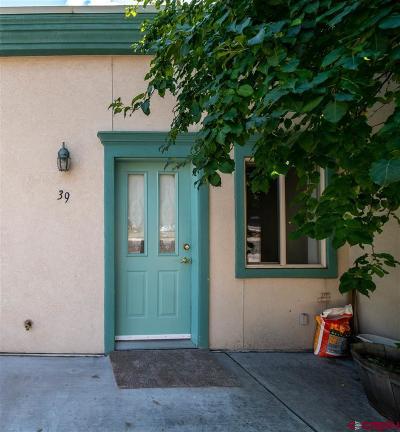 Durango Condo/Townhouse UC/Contingent/Call LB: 525 Animas View Drive #39