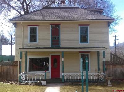 Paonia Single Family Home For Sale: 312 Grand Avenue