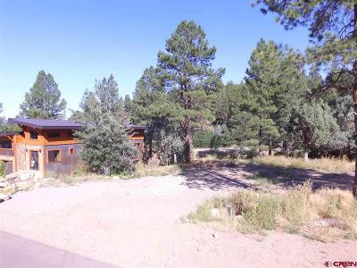 Durango Residential Lots & Land For Sale: 43 Manitou Lane