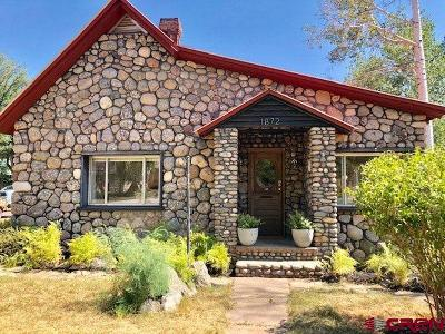 Durango Single Family Home For Sale: 1872 W 3rd Avenue