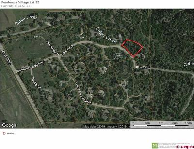 Ridgway Residential Lots & Land For Sale: 143 Blue Tip Drive