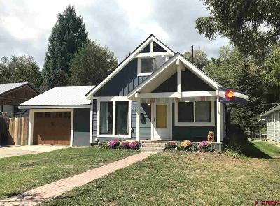 Durango Single Family Home For Sale: 2625 W 2nd Avenue