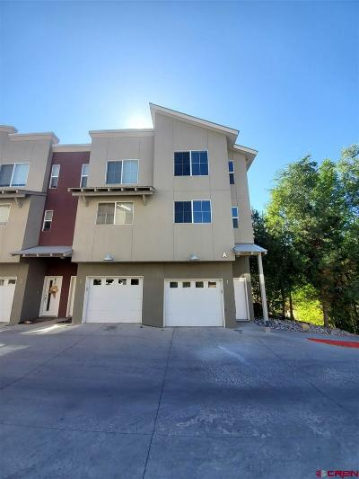 Durango Condo/Townhouse For Sale: 1140 Carbon Junction #1