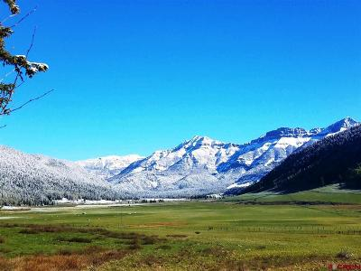 Pagosa Springs CO Residential Lots & Land For Sale: $1,599,900
