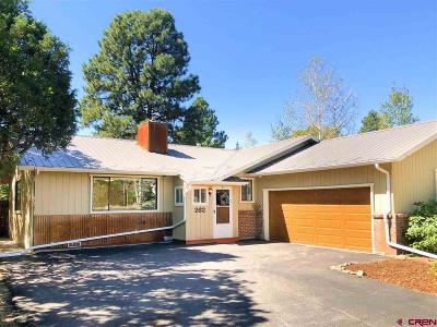 Durango Single Family Home For Sale: 262 Aspen Dr