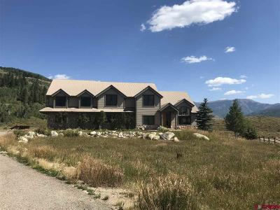 Crested Butte Single Family Home For Sale: 42 Earhart Lane