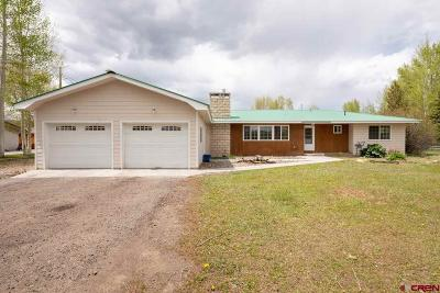 Gunnison Single Family Home UC/Contingent/Call LB: 902 W Us Highway 50
