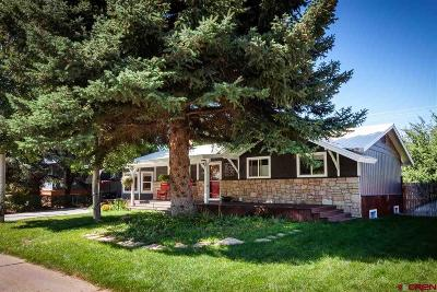Durango Single Family Home NEW: 2903 Aspen Drive