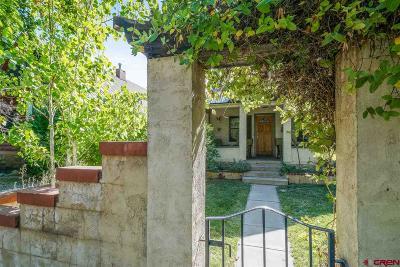 Durango Single Family Home NEW: 464 E 4th Avenue