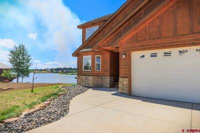 Pagosa Springs Single Family Home For Sale: 75 Pebble Circle