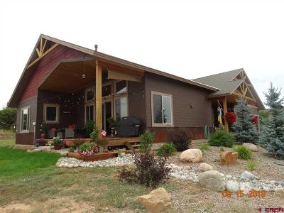 Pagosa Springs Single Family Home NEW: 268 Vista San Juan