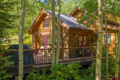 Crested Butte, Mt. Crested Butte, Almont Single Family Home NEW: 6475 County Road 740