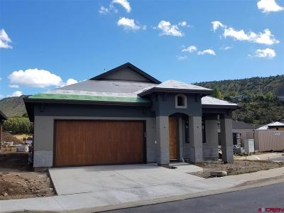 Durango Single Family Home NEW: 110 Via Veneto