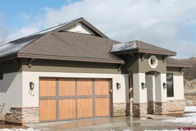 Durango Single Family Home NEW: 224 Via Veneto