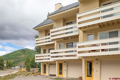 Crested Butte, Mt. Crested Butte, Almont Condo/Townhouse NEW: 710 Gothic Road #2