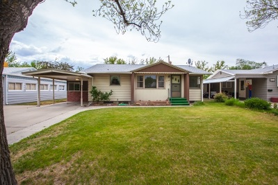 Grand Junction CO Single Family Home For Sale: $199,000