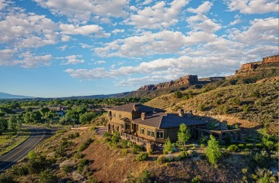 Grand Junction CO Single Family Home For Sale: $1,575,000