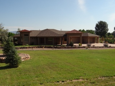 Grand Junction CO Single Family Home For Sale: $1,050,000