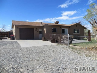 Grand Junction Single Family Home For Sale: 517 Reed Mesa Drive