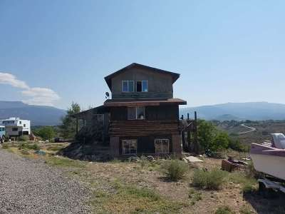 Whitewater Single Family Home For Sale: 8601 Reeder Mesa Road