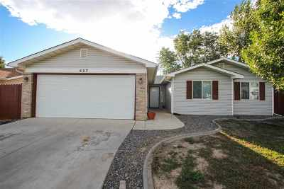 Grand Junction CO Single Family Home For Sale: $199,800