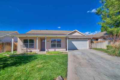 Fruita Single Family Home For Sale: 1137 Wolf Creek Court