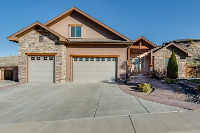 Grand Junction Single Family Home For Sale: 2660 Bangs Canyon Drive