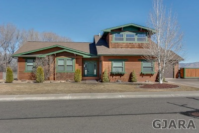 Grand Junction Single Family Home For Sale: 712 Foxwood Court