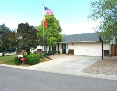 Grand Junction CO Single Family Home For Sale: $334,900
