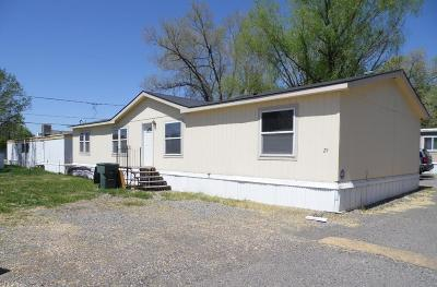 Grand Junction CO Single Family Home For Sale: $80,000