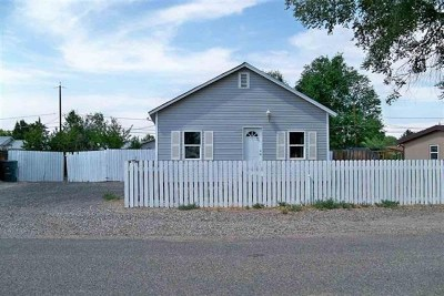 Grand Junction CO Single Family Home For Sale: $194,900