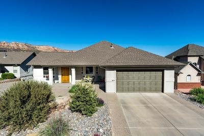 Grand Junction Single Family Home For Sale: 408 Mirada Court
