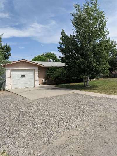 Clifton CO Single Family Home For Sale: $140,500