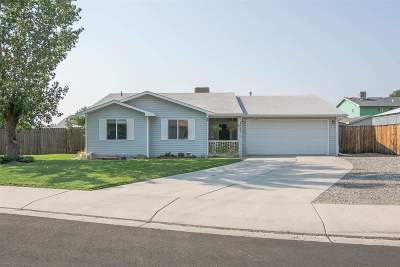Single Family Home For Sale: 3091 Canyon Trail