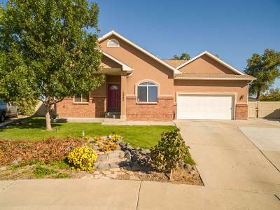Grand Junction CO Single Family Home For Sale: $305,000