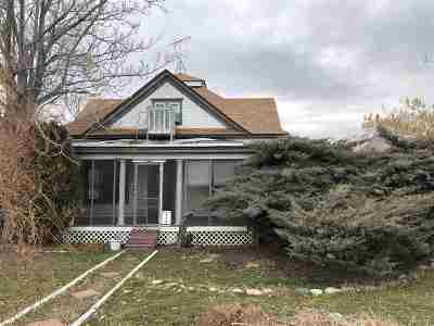 Single Family Home For Sale: 554 S Iowa Avenue