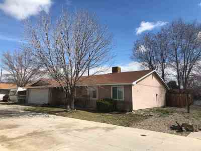 Single Family Home For Sale: 2998 3/4 Pinyon Avenue