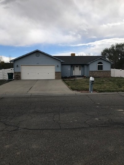 Grand Junction CO Single Family Home For Sale: $250,000