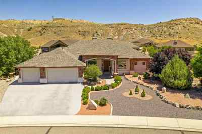 Grand Junction Single Family Home For Sale: 360 Caprock Drive