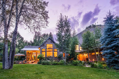 Snowmass Single Family Home For Sale: 1765 Snowmass Creek Road