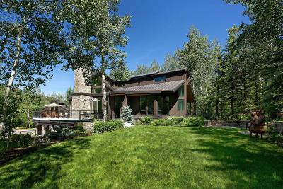 Aspen Single Family Home For Sale: 205 Roaring Fork Drive
