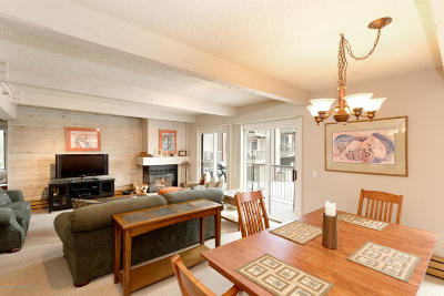 Snowmass Condo/Townhouse For Sale: 55 Upper Woodbridge Road #D-1
