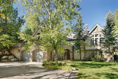 Snowmass Single Family Home For Sale: 179 Divide Drive