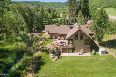 Glenwood Springs Single Family Home For Sale: 8040 County Road 117