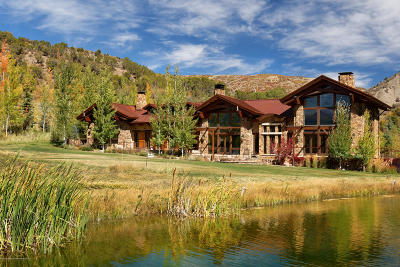 Snowmass Single Family Home For Sale: 6401 E Sopris Creek Road