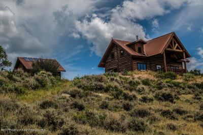 Silt Single Family Home For Sale: 22521 Divide Creek Road