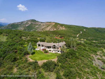 Aspen Single Family Home For Sale: 2653 Juniper Hill Road