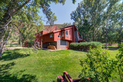 Glenwood Springs Single Family Home For Sale: 5011 County Road 154
